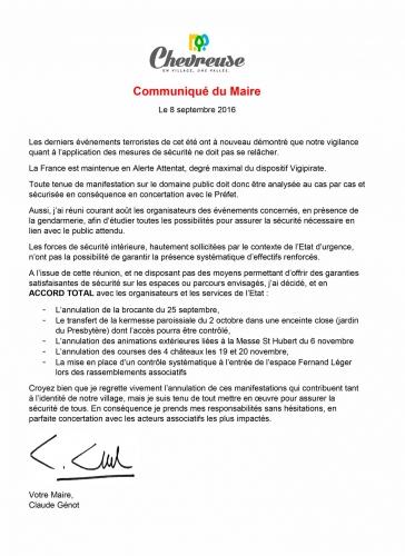 communique,genot,mairie,tract,cattaneo,chevreuse2014