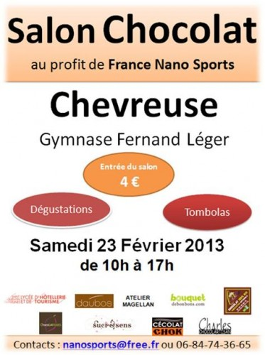 nanosports,évenement,chevreuse,salon,chocolat,théatre