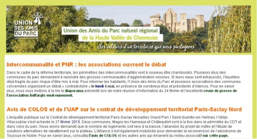 uapnr,newsletter,collectif,assocations,reunion,publique,intercommunalite