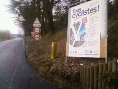 vélo,cyclistes,conseil general,coubertin,4x4,piste,paris nice