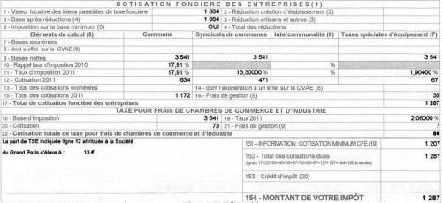taxe,professionnelle,cfe,contribution,fonciere