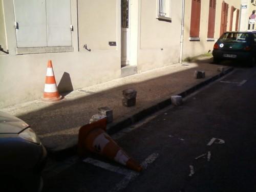 trottoir,stationnement,centre ville,rue,paris,élargissement