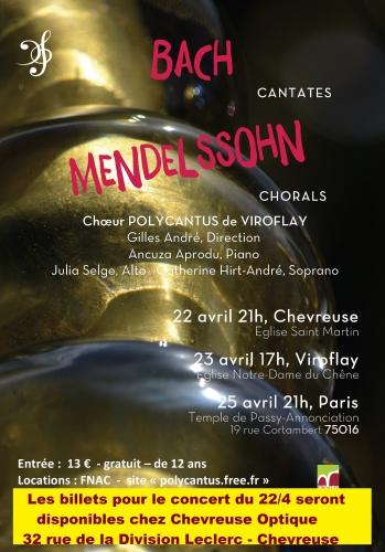 concert,eglise,polycantus,choeur,choral,viroflay,bach,mendelssohn