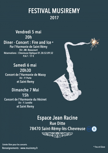 concert,harmonie,saint remy,diner